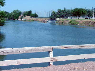 Irrigation Canal adjacent to Canaday Steam Plant